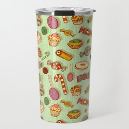 candy and pastries Travel Mug