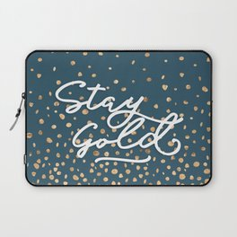 Stay Gold - Golden Drops Laptop Sleeve