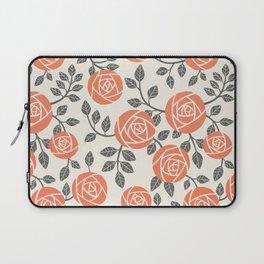 Retro roses Laptop Sleeve