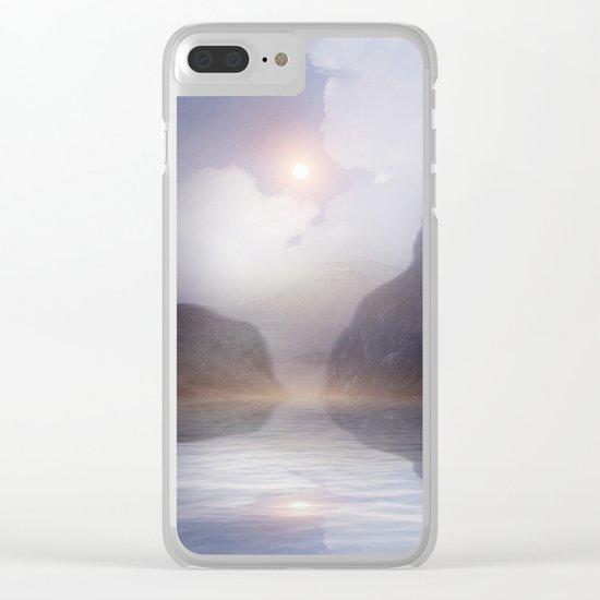 Magic in the Clouds VI Clear iPhone Case