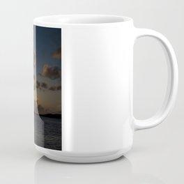 Sunset on the beach Coffee Mug