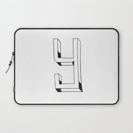 The Alphabetical Stuff - Y Laptop Sleeve