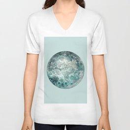 Neptune turquoise Unisex V-Neck
