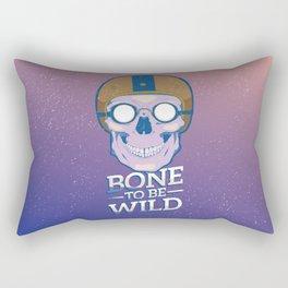 Skullture: Bone to be Wild Rectangular Pillow