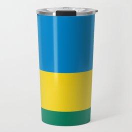 Flag of Rwanda Travel Mug