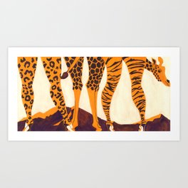 Hunter? Art Print