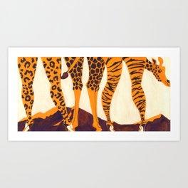 Hunter? Art Print