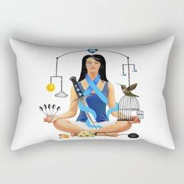 The Chronic Illness Warrior (CFS/ME) Rectangular Pillow