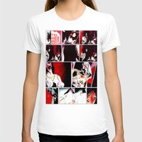 gore T-shirts featuring The Gore Gore Girls by Zombie Rust