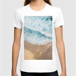 The Surfer and The Ocean T-shirt