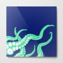 Release The Kraken! Metal Print