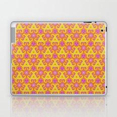 Warm Spiral Tie Dye Laptop & iPad Skin