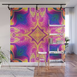 Psychedelic Three Wall Mural