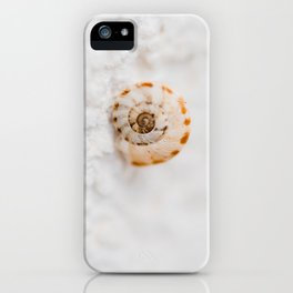 SMALL SNAIL iPhone Case