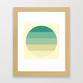 Sweet Georgia Breezes Framed Art Print