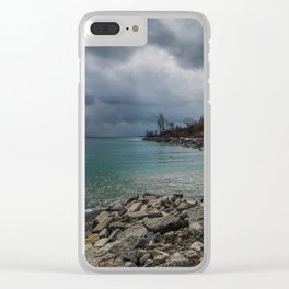 Thunder Storm Clear iPhone Case