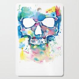 Color Skull Cutting Board