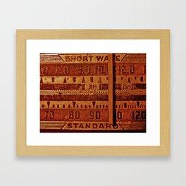 Radio Days Framed Art Print