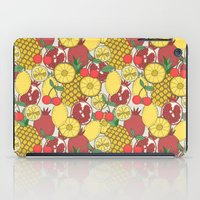 fruit iPad Cases featuring Fruit by Valendji