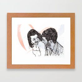 vows Framed Art Print