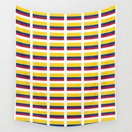 Flag of Colombia 2 -Colombian,Bogota,Medellin,Marquez,america,south america,tropical,latine america Wall Tapestry