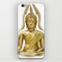 Golden Buddha iPhone Skin