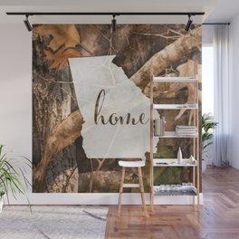 Georgia is Home - Camo Wall Mural