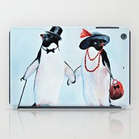 penguin iPad Cases featuring Penguin by Anna Shell