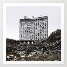 Misplaced Series - Standard Hotel Art Print