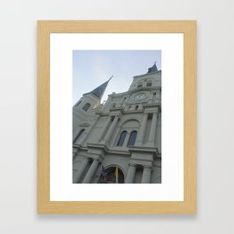 Cathedral Perspective Framed Art Print
