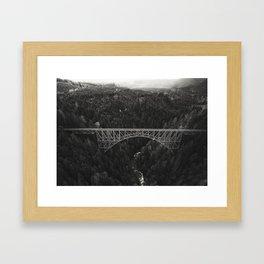 Vance Creek Framed Art Print
