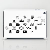 logo iPad Cases featuring Logo by Guillaume '96' Bonte