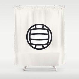 Volleyball - Balls Serie Shower Curtain