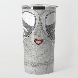 Sneaking Up On Love Travel Mug