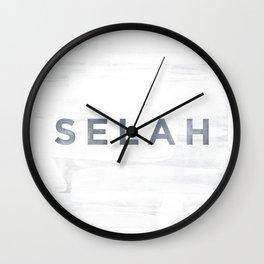 Selah Wall Clock