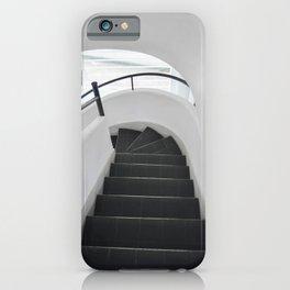 Modern Staircase in Villa Savoye iPhone Case