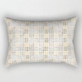 Classical beige cell. Rectangular Pillow
