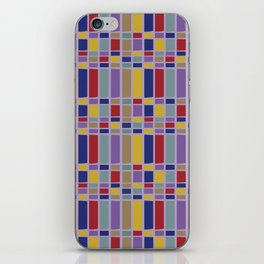 Keyboard Plaid-Retro iPhone Skin