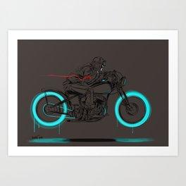 lowglow Art Print