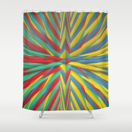Spiked Perspective Shower Curtain