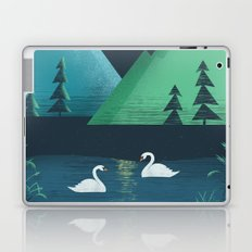 Moonlight Swim Laptop & iPad Skin