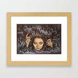 Enter the Void Framed Art Print