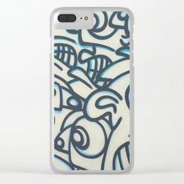 Graffiti Art in Wynwood Clear iPhone Case