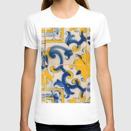 Portuguese azulejos, city of Ericeira T-shirt
