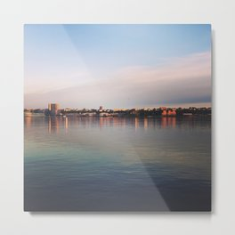 Early morning on the Hudson Metal Print