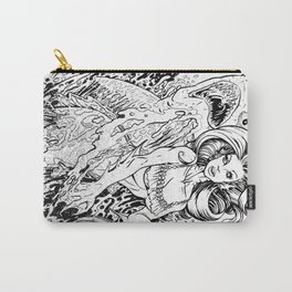 MERMAID AND FRIEND Carry-All Pouch