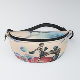 Muay Thai On Space Fanny Pack