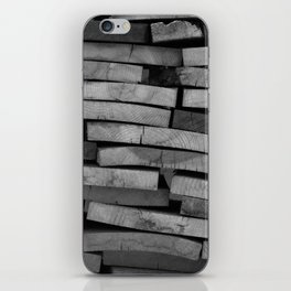 Lincoln Logs iPhone Skin