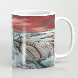 Morphing obscure horizons into shifting emotions Coffee Mug