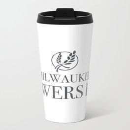 Brewers Hill Wordmark Black Metal Travel Mug